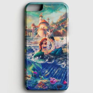 The Little Mermaid Red Hair iPhone 6/6S Case