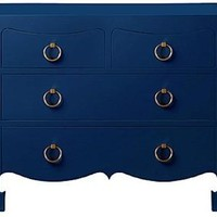 Jacqui 4-Drawer Side Table | Navy by Bungalow 5