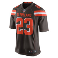 Nike NFL Cleveland Browns (Joe Haden) Men's Football Home Game Jersey