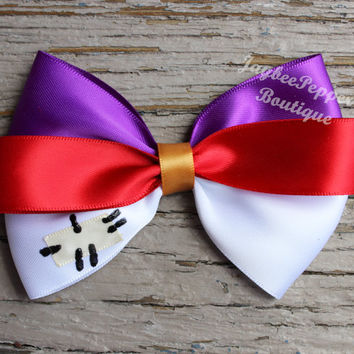 Aladdin hair bow Aladdin hairbow hair accessories