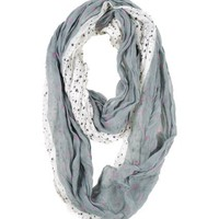 Modadorn New Arrivals Spring & Fall Star Light Infinity Scarf