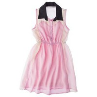 D-Signed Girls'  Tunic Dress Pink