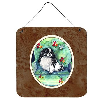 Japanese Chin in Momma's Chair Wall or Door Hanging Prints 7034DS66