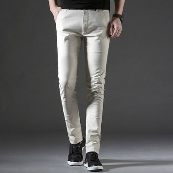 Summer Trousers Men Breathable Clothing
