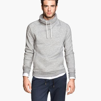 H&M Chimney-collar Sweatshirt $29.95