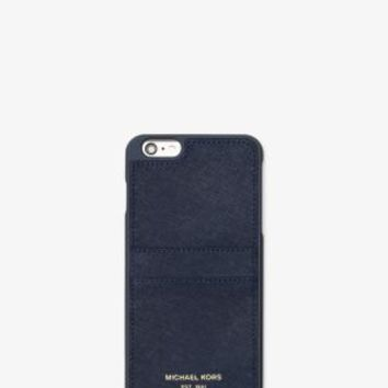 Saffiano Leather Phone Case | Michael Kors