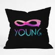 Jacqueline Maldonado Forever Young 2 Throw Pillow