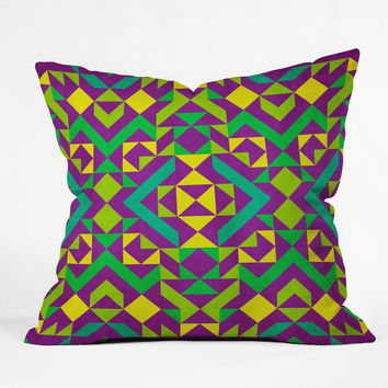 Arcturus Quadrilaterals Throw Pillow