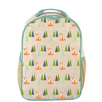 SOYOUNG OLIVE FOX TODDLER BACKPACK
