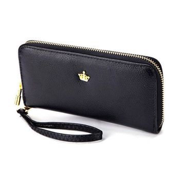 Woman Wallet Women Wallets and Purses Crown Portefeuille Femme Billeteras Mujer Marca Famosa Portafoglio Donna Womens Wallet