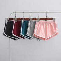 Fashion Casual Multicolor Cotton Sports Shorts Leisure Pants Hot Pants
