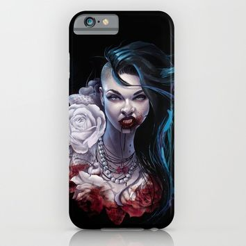 "Marceline  ""shades of red"" iPhone & iPod Case by Tyson McAdoo"