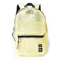 Stussy: Yellow Tarpaulin Lawson Backpack - Clear