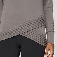 Serenity Criss Cross Sweatshirt | Athleta