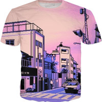 Vaporwave Radio City T-Shirt