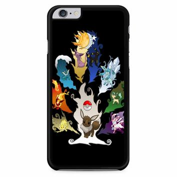 Eeveelution Eevee Vaporeon iPhone 6 Plus / 6s Plus Case