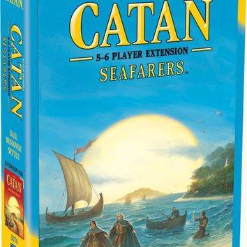 Settlers of Catan: Seafarers (5-6 Player Extension)