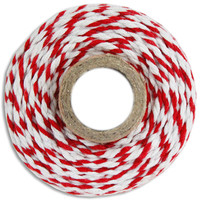Chunky Red Bakers Twine