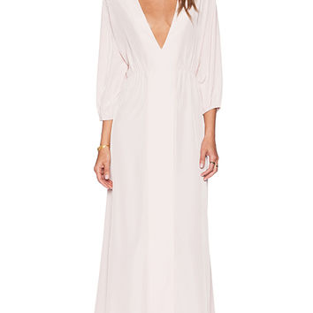 Assali Reticent Kaftan in Blush