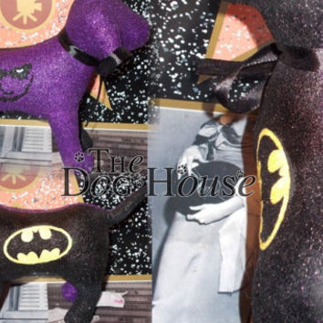INSTOCK Joker Batman Half and Half Victoria Secret Customized Puppy Dog