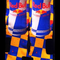 Red Bull Custom Parody Nike Elite Socks