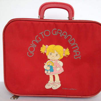 Childrens Vintage Suitcase | Luggage And Suitcases