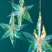 Iridescent Star Decor Set - Urban Outfitters