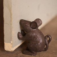 Cast Iron Mouse- Rustic