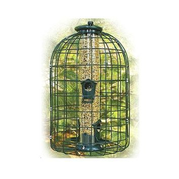Audubon™ NATUBE3 Caged Squirrel Resistant Tube Bird Feeder, 1.25 Lbs