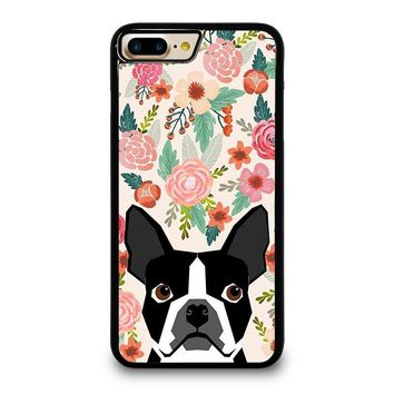 BOSTON TERRIER DOG BREED iPhone 4/4S 5/5S/SE 5C 6/6S 7 8 Plus X Case