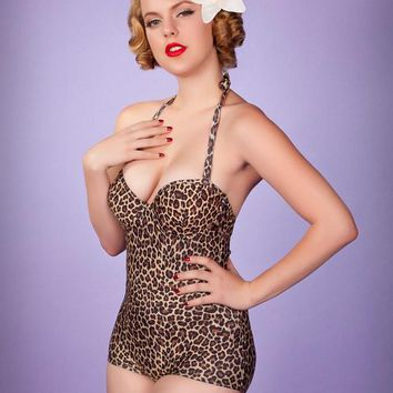 Seana Cat's Meow Underwire One Piece | Get Go Retro