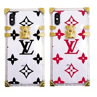 Free Shipping Ianlaynedesigns Louis Vuitton Transparent iphone Case LV Shell B