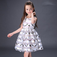 2016 Trending Fashion Women Angel Princess Printed One Piece Dress Kids Boys Girls Baby Clothing Toddler Bodysuits Products For Children _ 4725