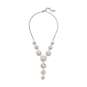 Lucky Brand Pearl Circle Y Necklace