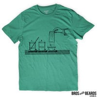 Chemistry T-shirt | Screen Printed Breaching by Chlorine Tee