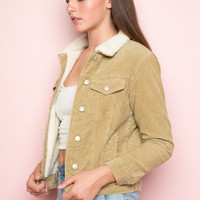 Shaine Corduroy Jacket - Just In