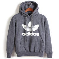 """""""Adidas"""" Print Hooded Pullover Tops Sweater Sweatshirts 10/Color"""