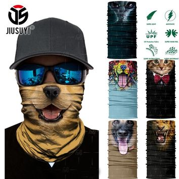 75875b4e0567d 3D Seamless Animal Cat Dog Panda Magic Headband Tube Neck Face Mask Bandana  Headwear Head Scarf