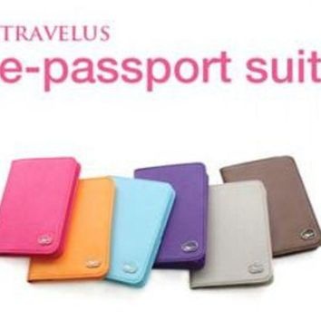 CREYCI7 Case Fashion Brand Passport Cover Quality PU Leather Card Credit Prevent the demagnetization Passport Holders