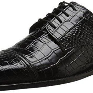 Stacy Adams Men's raimondo Cap Toe Oxford, Black, 10.5 M US