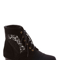 ModCloth Festival Mesh Well Together Bootie