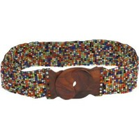 About Color Basic Wood Buckle Belt