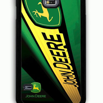 Samsung Galaxy S5 Case - Hard (PC) Cover with john deere Plastic Case Design