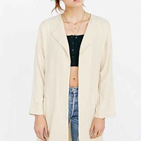 COPE Linen Drapey Blazer- Neutral Multi