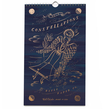 2017 Constellations Wall Calendar
