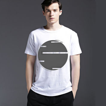 Summer Casual Creative Strong Character Cotton Men's Fashion Short Sleeve T-shirts [6541834627]
