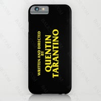 Directed By Quentin Tarantino iphone case