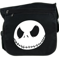 Jack Skellington Cross Body Messenger School Bag Nightmare Before Christmas