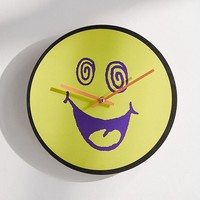 "Wacky Face 12"" Wall Clock 