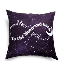 Black Love You To The Moon Pillow | Pillows | rue21